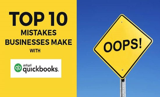 The Top Ten QuickBooks Mistakes the Industry Makes Every Month LIVE